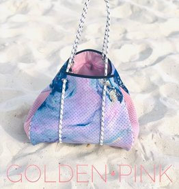 Geode-Pink Neoprene Bag