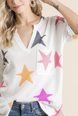 Colorful Stars Top