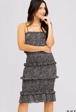 Black Tear Drop Dress