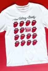 Rolling Stones White OU Multi Lick Tee