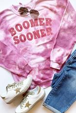Tie Dye Boomer Sooner Sweatshirt