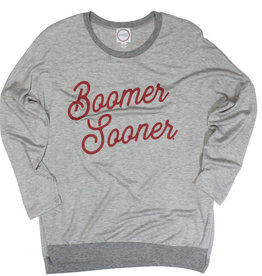 Boomer Sooner Gray Side Split