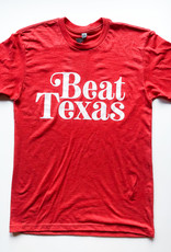 Beat Texas Red Tee