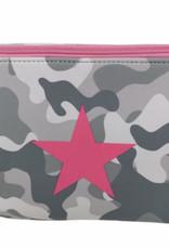 Camo Star Make Up Bag