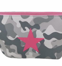 Camo Star Make Up Bag