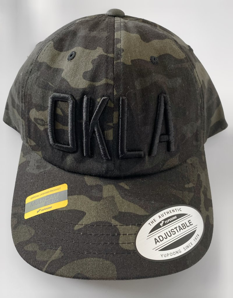 OKLA Dark Camo Hat
