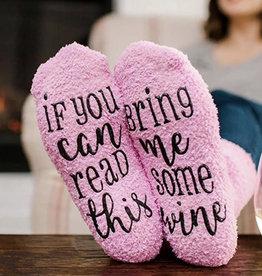 Cupcake Wine Socks
