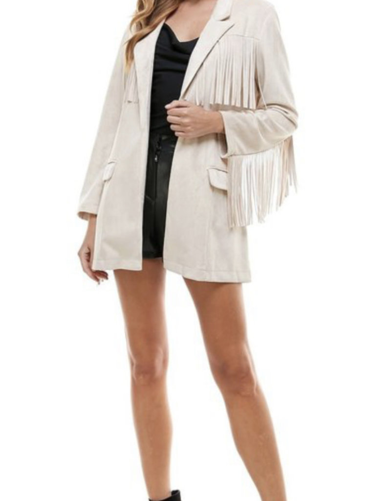 Play on Fringe Jacket