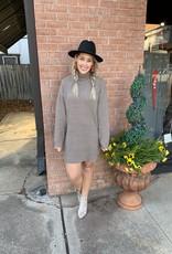 Mocha High Sweater Dress