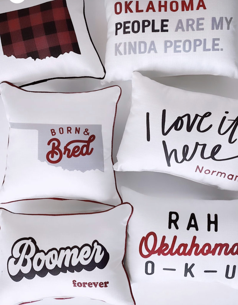 Born and Bred Pillow