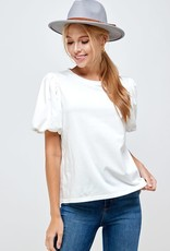 Beautiful Memories Puff Sleeve Top