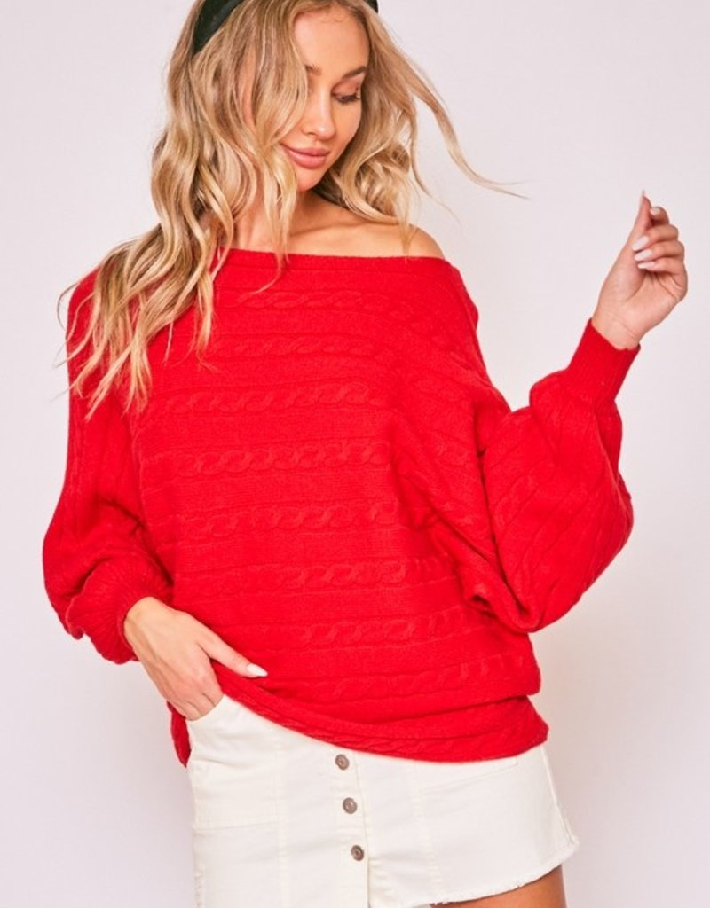 Red Robin Sweater