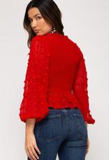 Red Lovin Top