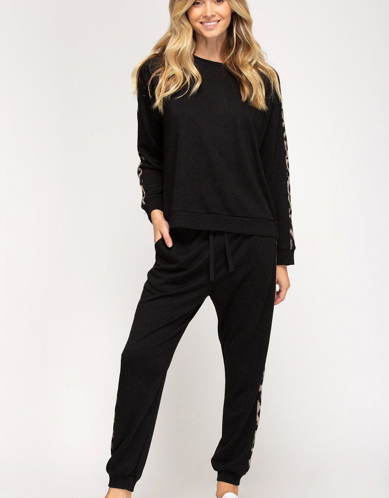 On The Wild Side French Terry Jogger