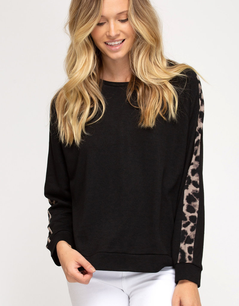 On The Wild Side French Terry Top