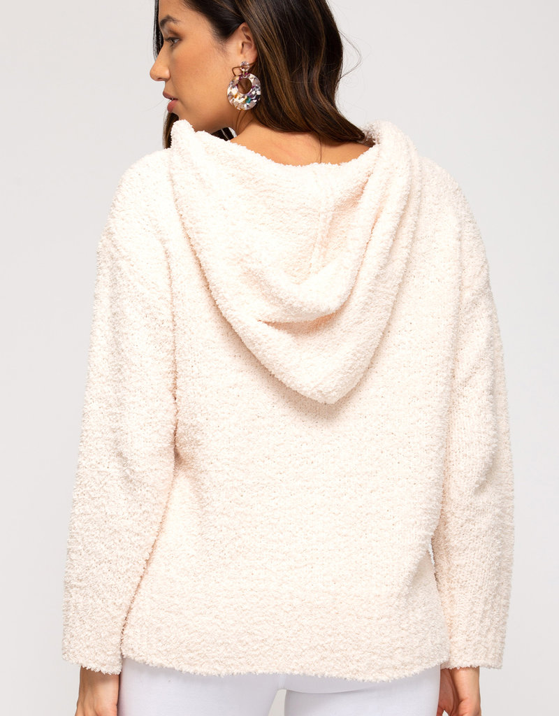 Warm Vibes Hooded Sweater