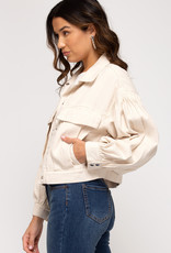 Tilly Cream Jacket
