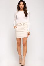 Tilly Cream Skirt