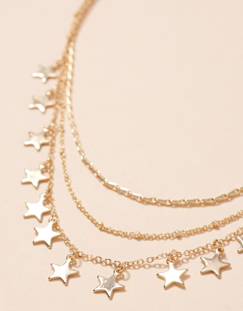 Star Stack Necklace