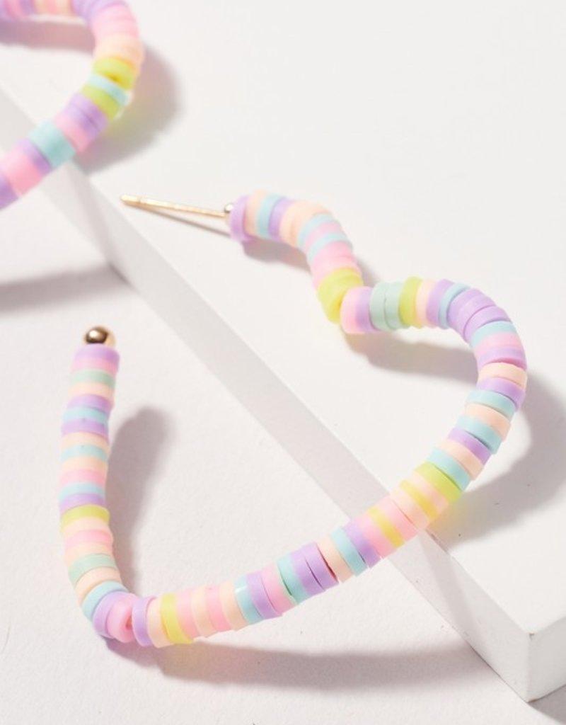 Pastel Heart Earring