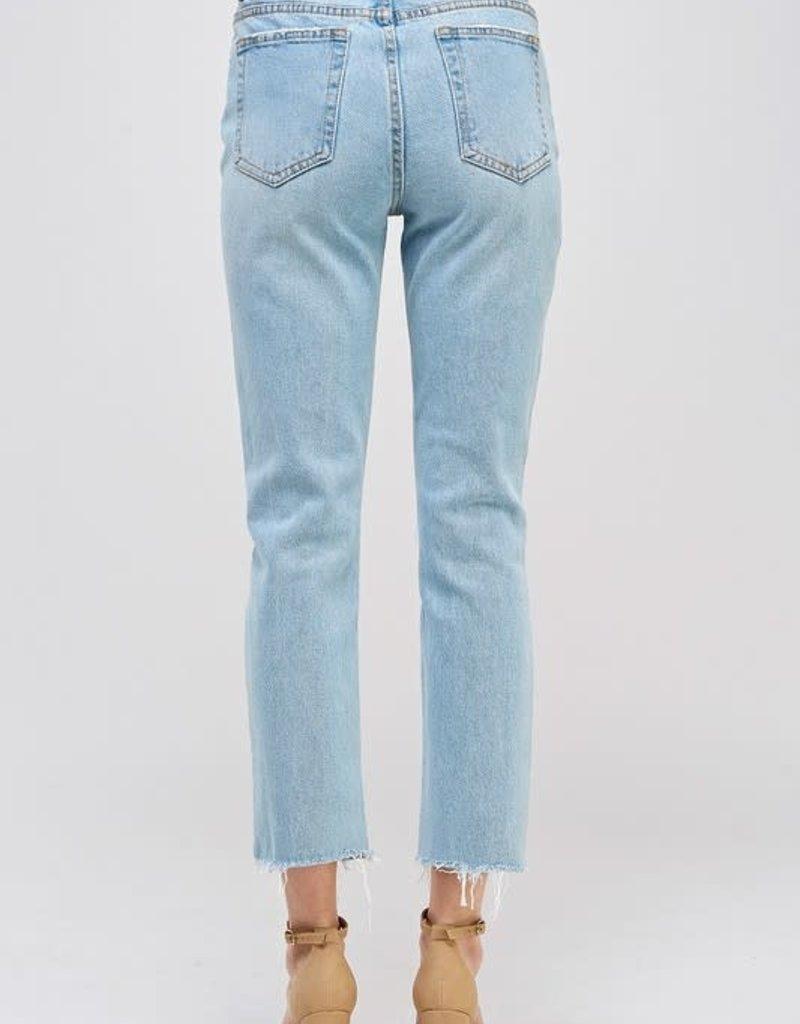 Sig8 High Rise Straight Leg Jean