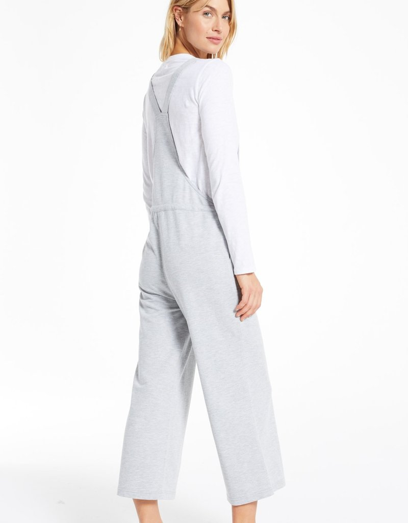 Cinched Waist Overalls