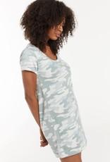 Payton Camo Tee Dress