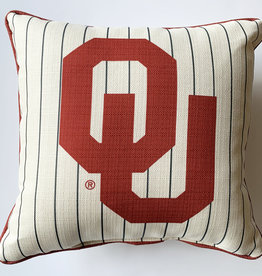 Pinstripe OU Pillow