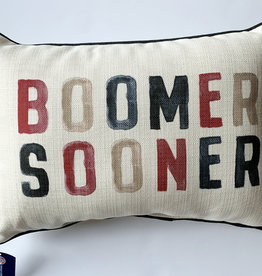 Poster Boomer Sooner Pillow