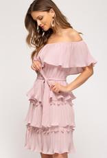 Paris Dreams Pink Dress