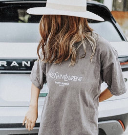 Oversized Lux Tee (Grey, White and Black)