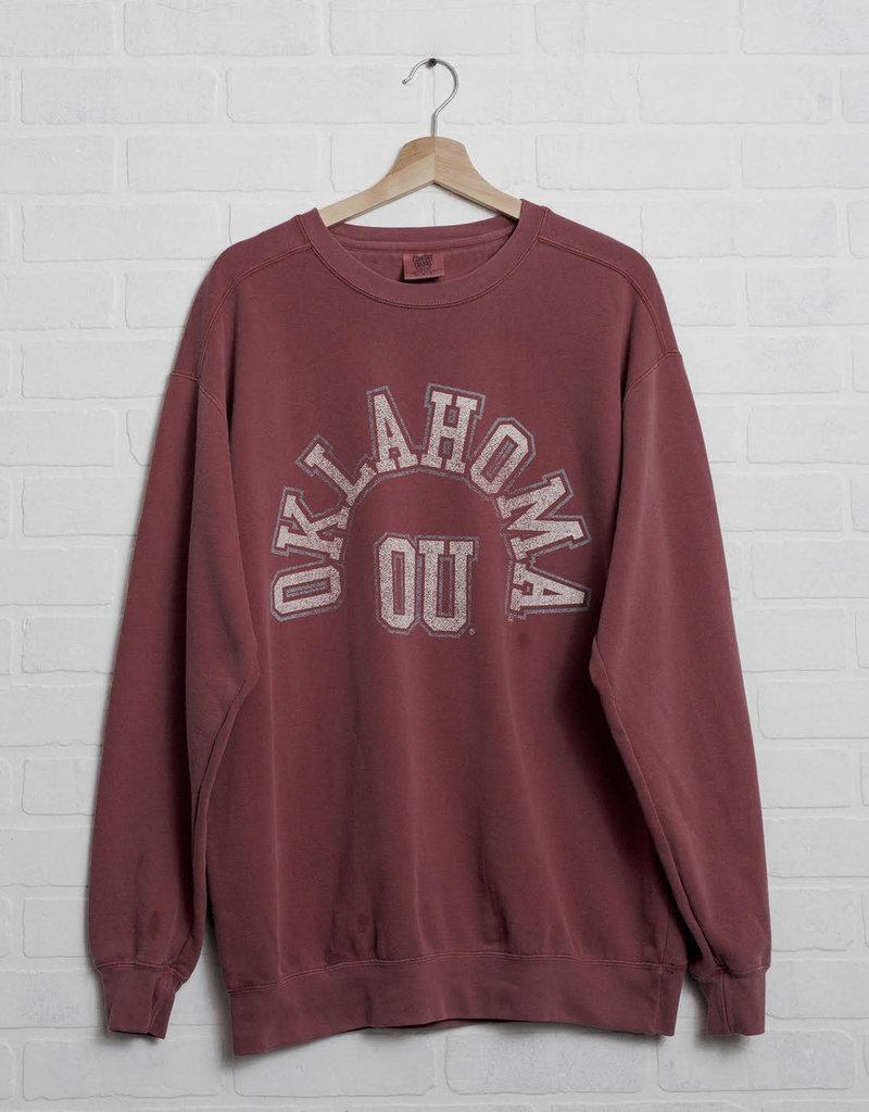 Crimson OU Mega Arch Sweatshirt