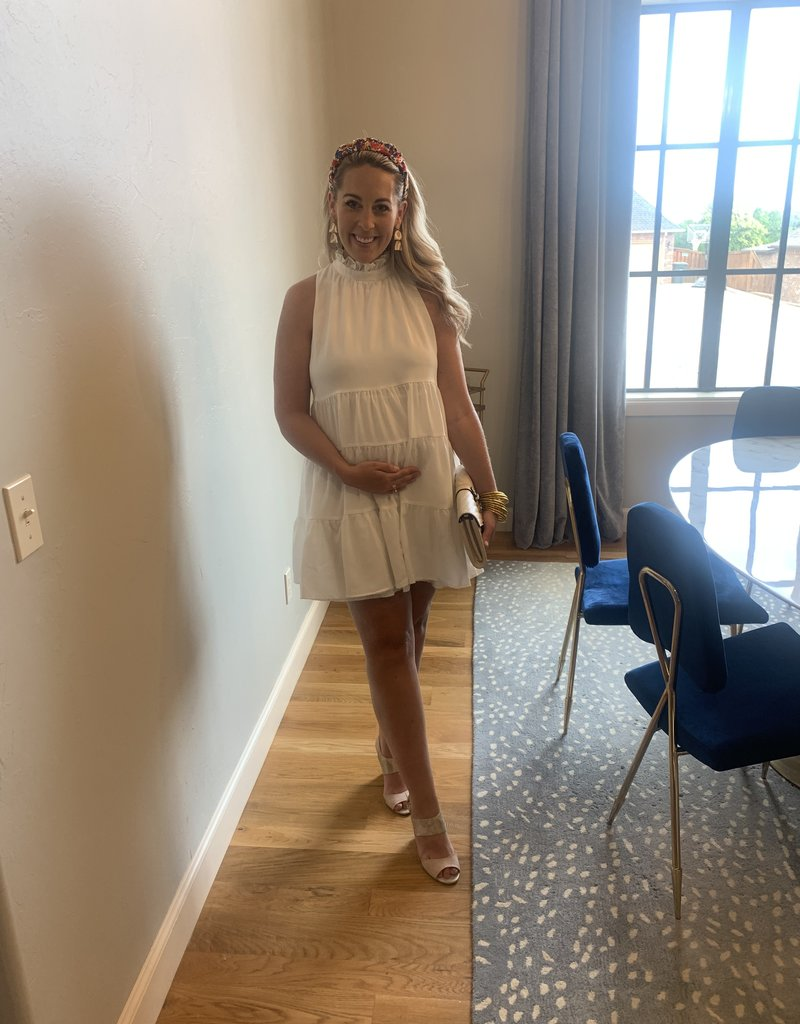 Breathe Me In Tiered Dress
