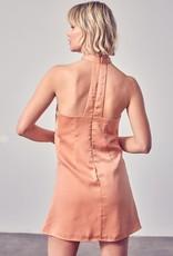 Cross Neck Dress