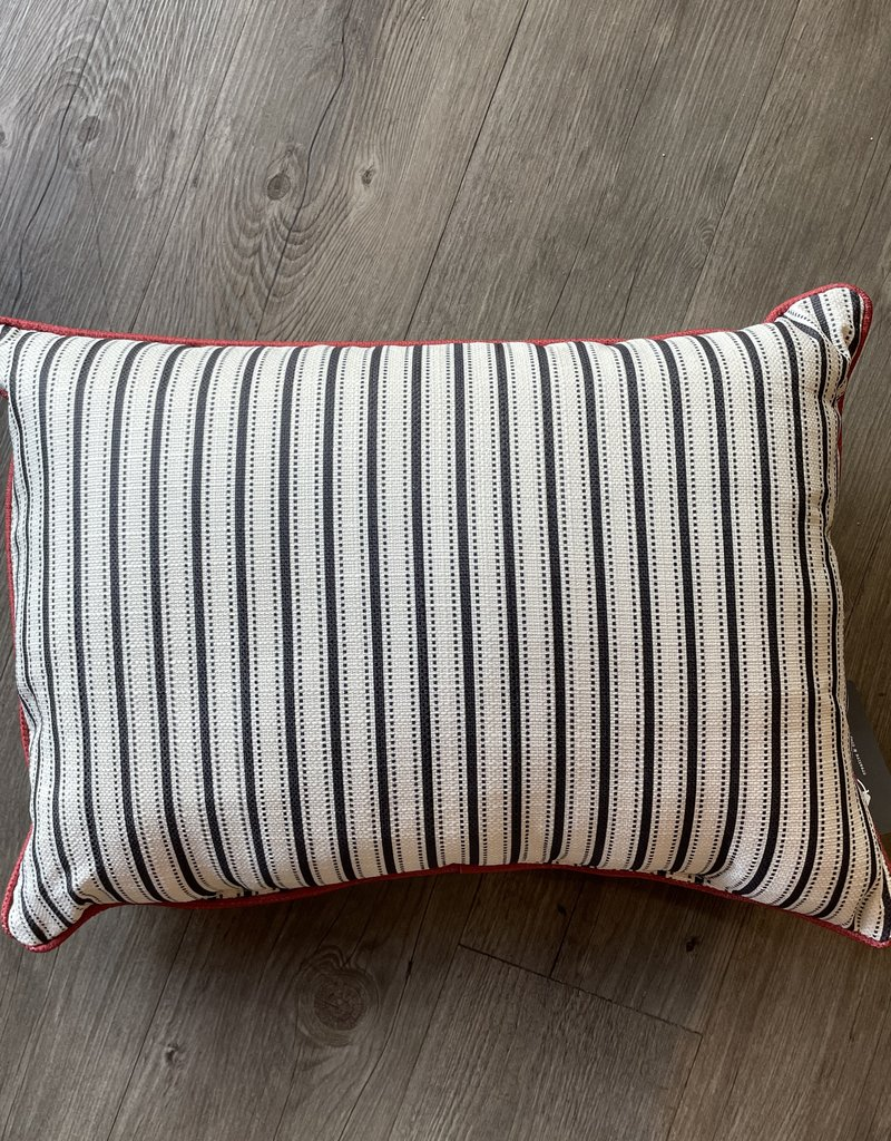 U of Ok Pinstripe Pillow