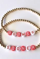 Sooner Bead Bracelet