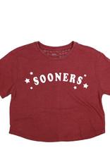 Sooners Trophy Vintage Wash Crop