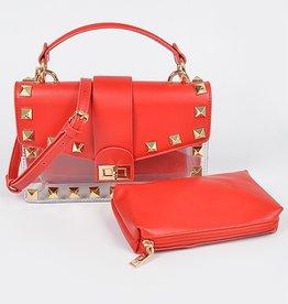 Big Stud Red purse