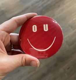 OU Smiley Button