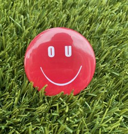 OU Smiley Small Button