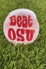 Beat OSU Tie Dye Button