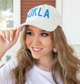 White With Blue OKLA