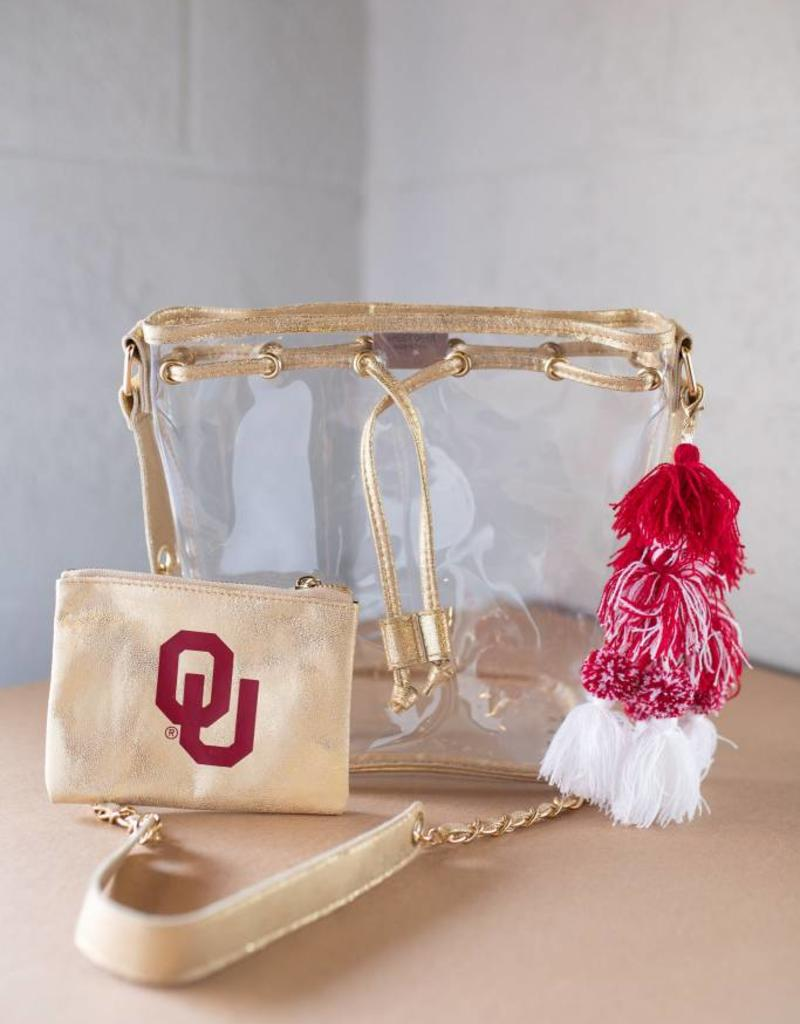 Ella Gold Bucket Bag