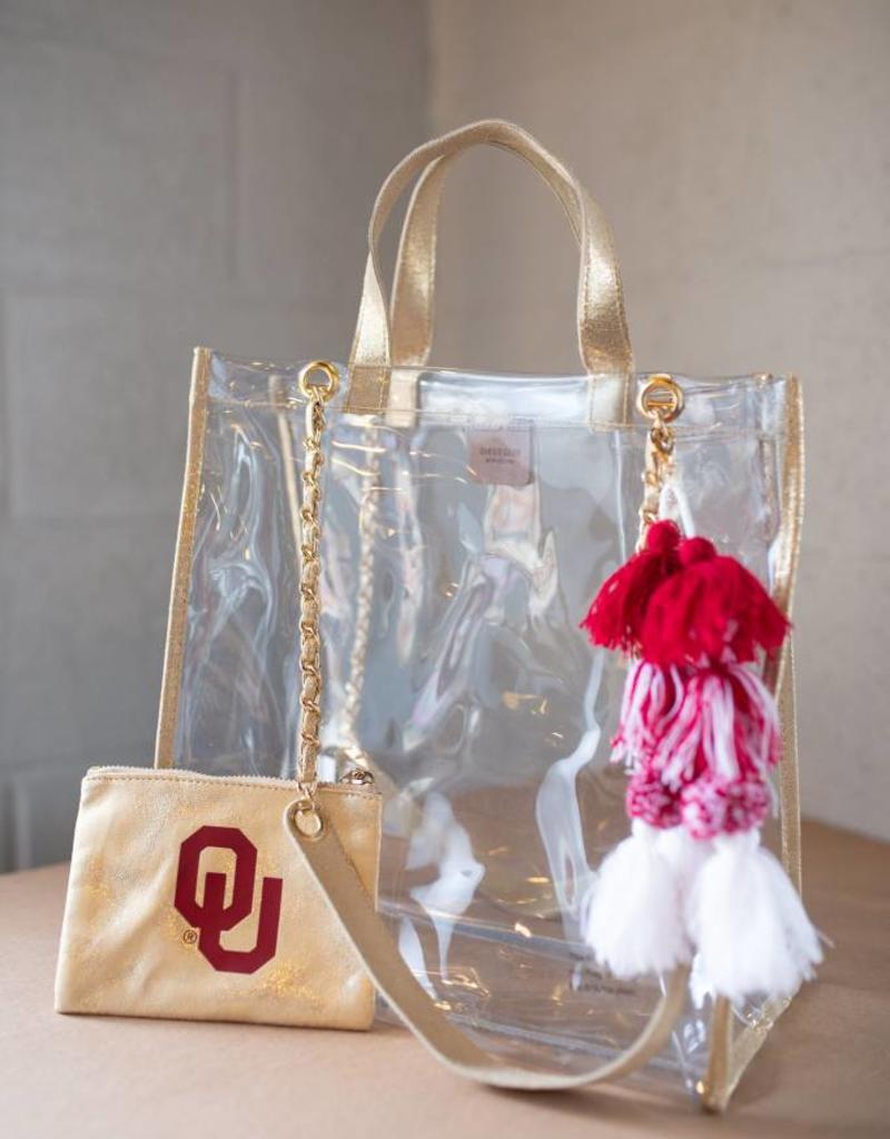 Emilia Gold Tote Bag