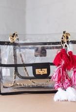 Viviana Side Black Bag