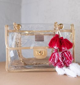 Viviana Side Gold Bag