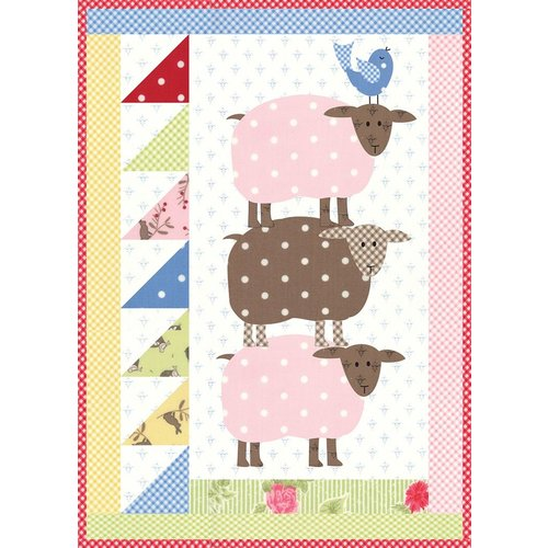 Jelly Beans Quilt Pattern <br />by Bunny Hill Designs