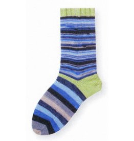 Gedifra Lana Mia One 4 Two Sock Yarn in Blue/Grey/Mint
