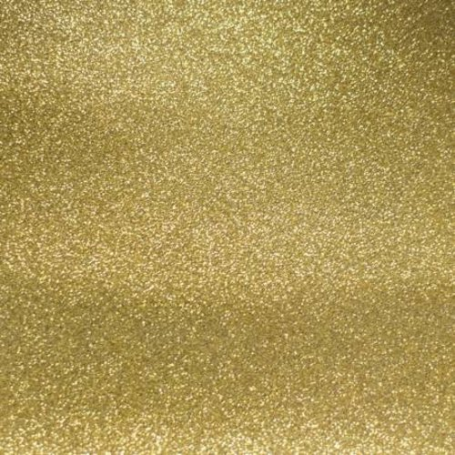 Mikri World Glitter Mirror Vinyl Roll in Gold