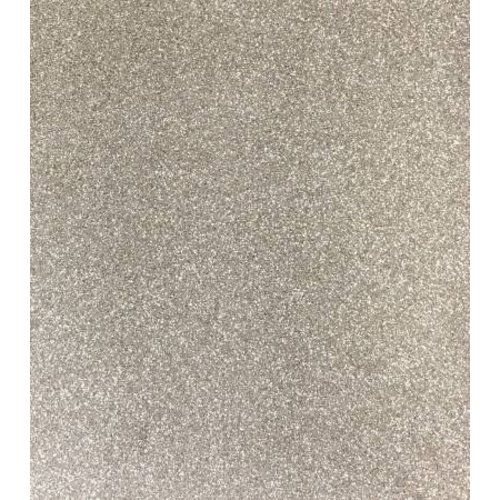 Mikri World Glitter Mirror Vinyl Roll in All About the Beige